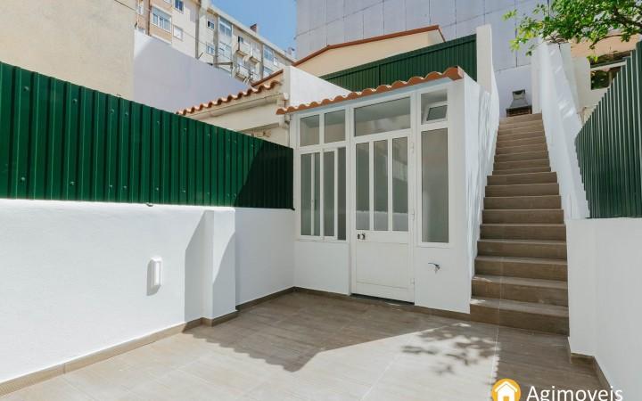 Benfica T1+T0 com dois terraços